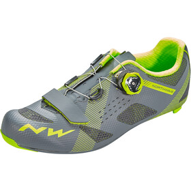 Northwave Storm Shoes Herren anthracite/yellow fluo